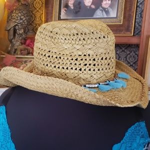 CAPPELLI ROLLED SIDES WESTERN HAT OS